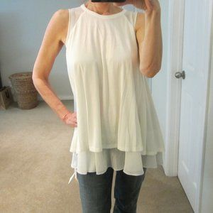 Flowy Layered Top by Fray I.D - NWT